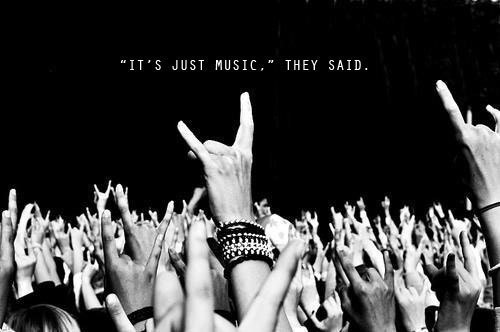 its just music